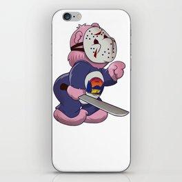 Jason Scare Bear iPhone Skin