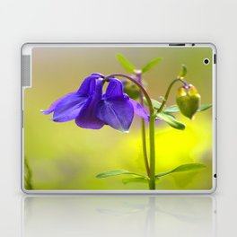 Purple Columbine In Spring Mood Laptop & iPad Skin