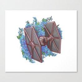Tie Flowers Canvas Print