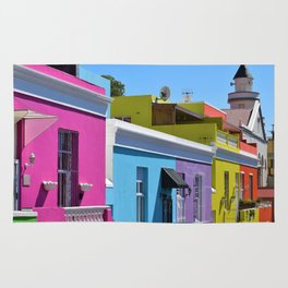 Bo-Kaap, South Africa #society6 #decor #buyart Rug