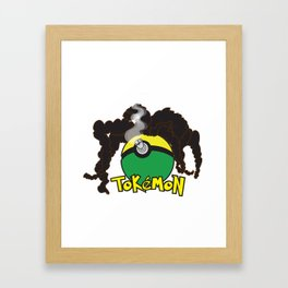 Tokemon Framed Art Print