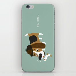 I Nose Things iPhone Skin