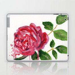 Rose and Leaves Laptop & iPad Skin