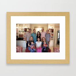 hooray for Ardis Framed Art Print