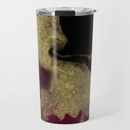 Black Honey - resin abstract painting Travel Mug