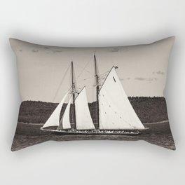 Sailing The Basin Rectangular Pillow