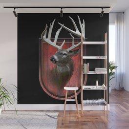 Deer photo-illustration Wall Mural