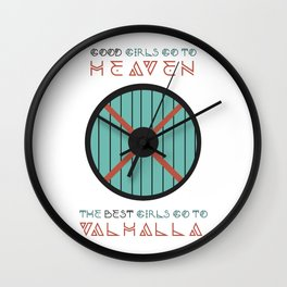good girls go to heaven Wall Clock