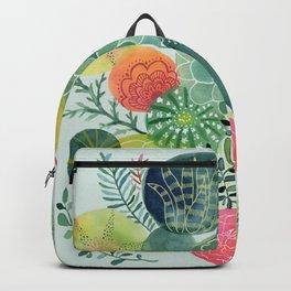 Succulent Circles Backpack