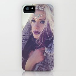 Mother Winter iPhone Case