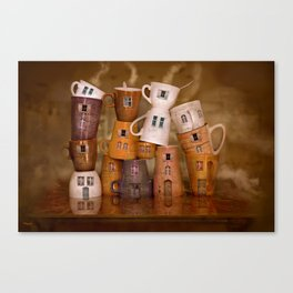 Coffeetime ! Canvas Print