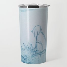Lonely Dog Travel Mug