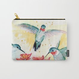Hummingbird Party Carry-All Pouch