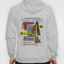 Vintage South Dakota Travel Hoody