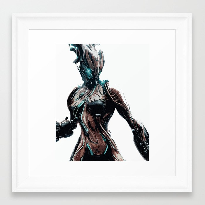 Valkyr - Warframe v2 Framed Art Print by dusan449 | Society6