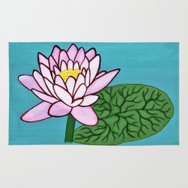 Water Lilly Rug