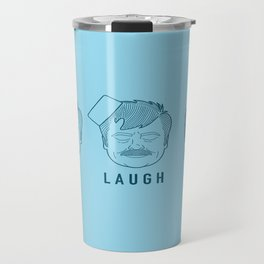 Live Laugh Love, Ron Swanson Travel Mug