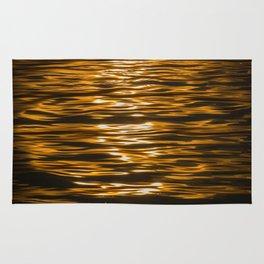 Sunset Ripples (Lake Balaton) Rug