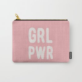 GRL PWR (pink) Carry-All Pouch