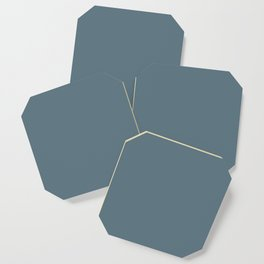 Plain Teal to Coordinate with Simply Design Color Palette Coaster