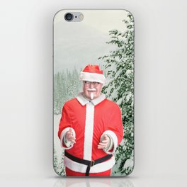 Merry Christmas, Colonel Sanders iPhone Skin