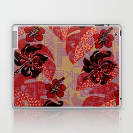 On Fire Kona Tropical Floral Laptop & iPad Skin