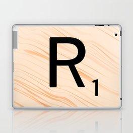 Scrabble Letter R - Large Scrabble Tiles Laptop & iPad Skin