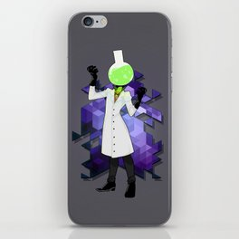 BRAINWAVES: THE SCIENCE OF MADNESS iPhone Skin