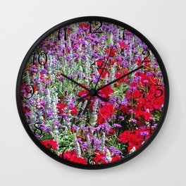 Wedding Shower Wall Clock