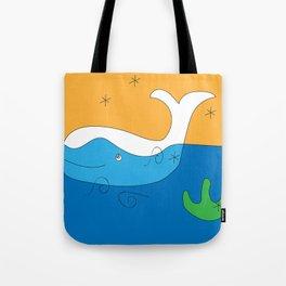 whale flag Tote Bag