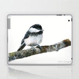 Black-capped Chickadee by Teresa Thompson Laptop & iPad Skin