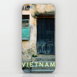 ANTIQUE CHINESE WALL of HOI AN in VIETNAM iPhone Skin