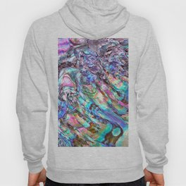 Shimmery Rainbow Abalone Mother of Pearl Hoody