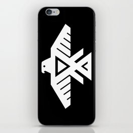 Thunderbird flag - HQ file Inverse iPhone Skin