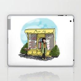 Balade à Honfleur Laptop & iPad Skin