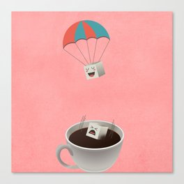 Cautious Sugar Cube Canvas Print