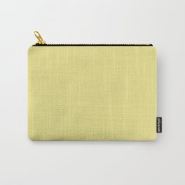 Light Khaki - solid color Carry-All Pouch