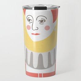 Queen Elizabeth I Portrait Travel Mug