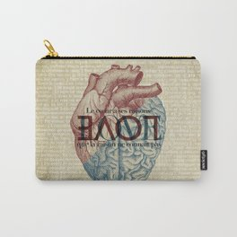 Love is...heart and reason Carry-All Pouch