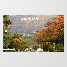 Make Jesus Famous Rug