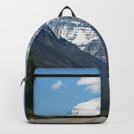 Mount Robson Photography Print Backpack