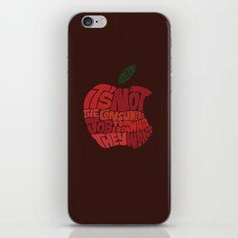 Steve Jobs on Consumers iPhone Skin