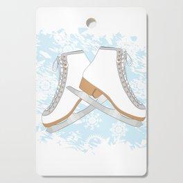 Ice skates Cutting Board