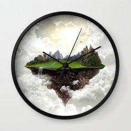 The island of silence Wall Clock