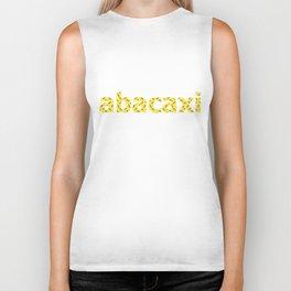abacaxi yellow Biker Tank