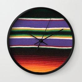 MEXICAN SERAPE Wall Clock