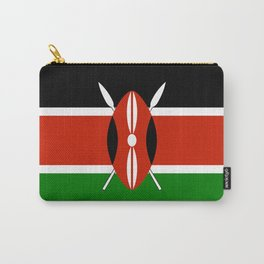 Kenyan national flag - Authentic version Carry-All Pouch