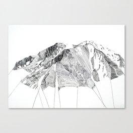 Mount Sopris Canvas Print