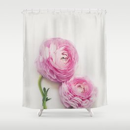 Peachy Shower Curtains