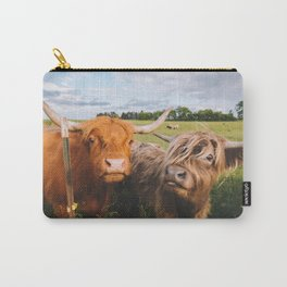 Highland Cows - Blep Carry-All Pouch